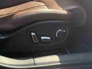 A6 4G C7 – Chrome Seat Buttons