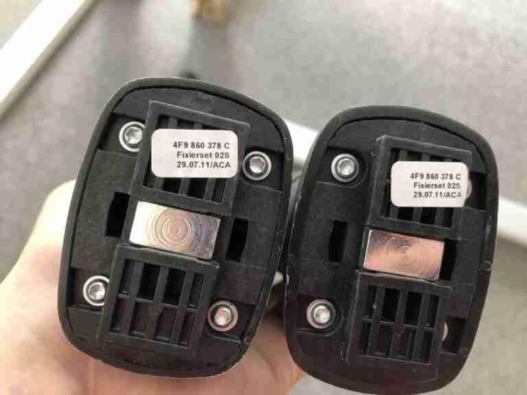 Audi A6 4G C7 Trunk Splitters